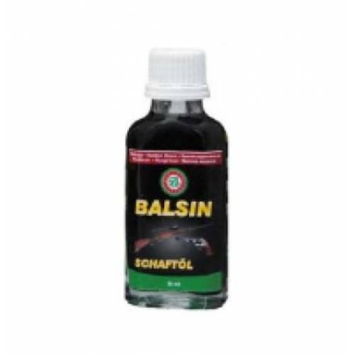 Масло Clever Ballistol Balsin Schaftol 50мл. д/ухода за деревом, красно-коричневый