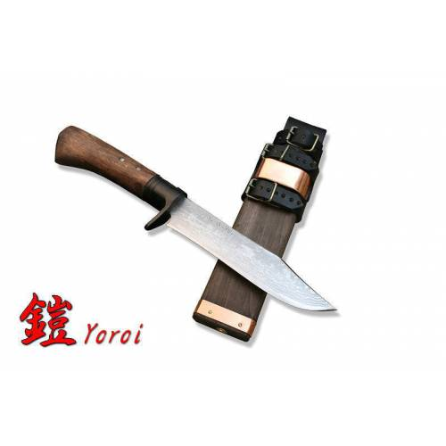 "KB-128 Охотничий нож с фикс. лезвием ""Kanetsune Seki"" Yoroi"