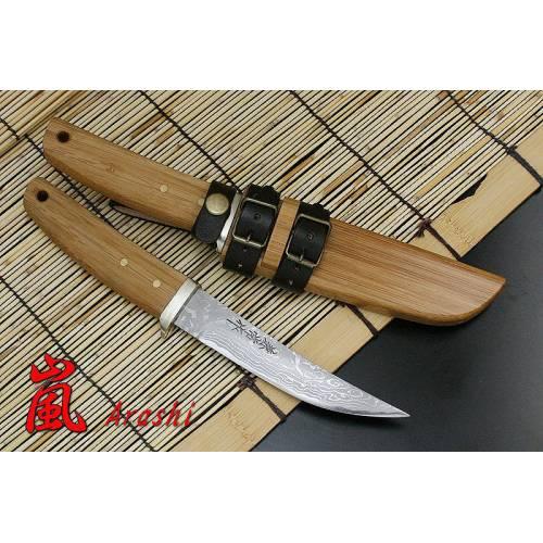 KB-134 Arashi Нож с фиксированным клинком, Kanetsune