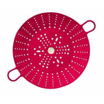 Силиконовый дуршлаг Sleekstor большой11  цвета Вишни (102-124-005)