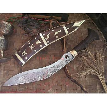 KH 0902 нож  9'' Dhankute Engraved Кукри