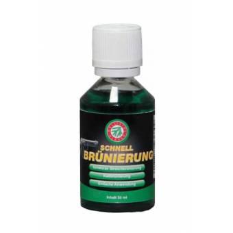 Жидкость Clever Ballistol Schnellbrunierung 50мл. д/воронения, пластик