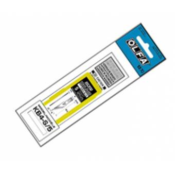 OL KB4-S/5 Набор лезвий (косых) из высокоуглеродистой стали к ножу OL AK-4 5 шт, Olfa