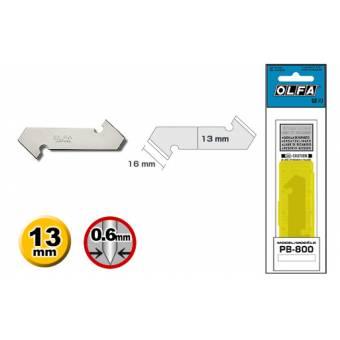 OL PB-800 Лезвия для ножа для резки пластика, 3 лезвия, Olfa